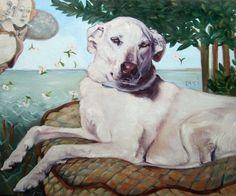 A regal pet portrait.