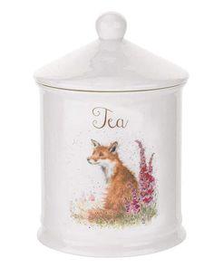 Fox tea canister #ad #fox