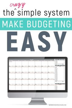 Are you struggling to organize your finances and start building a budget that works? Check out this super simple digital budget calendar system to start managing your money like a boss.  How to Create a Budget | Budgeting Finances | Budgeting Money | How to Budget Your Money #budget #money #mommanagingchaos