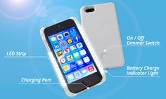 LuMee case, the cell phone case that illuminates your face!