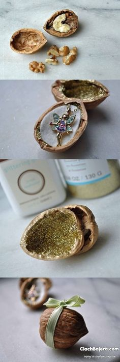 The original idea for packing gifts - jewelry