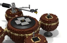 Someone has built a working turntable out of Lego – The Vinyl Factory