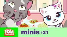 Talking Tom and Friends Minis - Camera Shy (Episode Camera Shy, Mini Camera, Friends Youtube, Animation Series, News Games, Pretty Cool, More Fun, Things That Bounce, Nice Picture