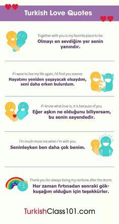 #Learning_Turkish 💖 Romance 💖
