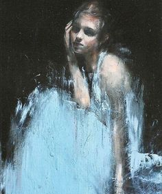 Powerful oil portrait by self-taught Manchester-based contemporary figurative…