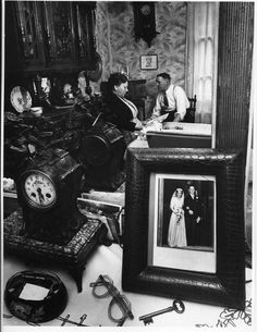 La cheminée de Madame Lucienne 1953. © Robert Doisneau