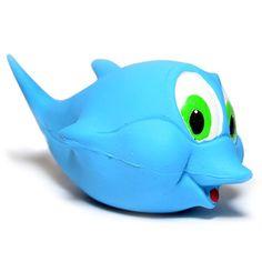 Brinquedo Golfinho Azul São Pet - MeuAmigoPet.com.br #petshop #cachorro #cão #meuamigopet