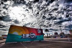Carlys-Golden Rule Tattoo building / Roosevelt Row / Phoenix, AZ