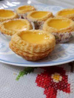 Obtain Chinese Food Treat Recipe Pastry Recipes, Tart Recipes, Cooking Recipes, Milk Recipes, Chinese Egg Tart, Chinese Food, Korean Food, Dessert Dishes, Dessert Recipes