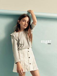 Aroa from Sugar Kids for Massimo Dutti.