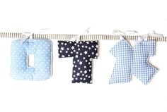 Hanukkah Gifts for Kids: Handmade personalized name pillow wall hanging