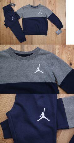 6c9096953de0 Outfits and Sets 156790  Air Jordan Boy 2 Piece Jogging Set ~Sweatsuit~  Navy Blue