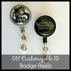 Diy badge reel with velcro so you can switch patterns diy love diy customizable id badge reels visit fizzypops for tutorial and supplies solutioingenieria Image collections