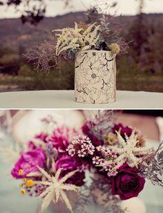 Gorgeous rustic country wedding! via Greenweddingshoes.com