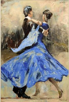 The Waltz with a Blue Dess