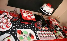 ladybug baby shower centerpiece ideas - Special Ladybug Baby Shower Design Ideas – Home Party Theme Ideas