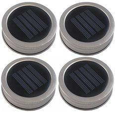Dollar Store Crafts | How to Make Mason Jar Solar Lights