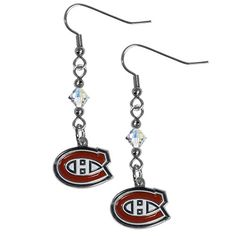 Montreal Canadiens Dangle Earrings