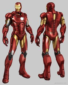 This concept art of the infamous Iron Man, was for a now cancelled, Avengers Assemble Game. The sleek design has translated well to the 3D graphic style, having a nice matte shine to the armour, creating a very sleek feel to his suit.
