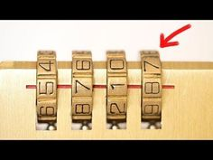 Learn how to crack a combination lock in seconds with no tools. This method is for combination locks without false gates which are generally cheaper locks. Survival Life Hacks, Survival Prepping, Survival Skills, Survival Gear, Simple Life Hacks, Useful Life Hacks, Diy Lock, Life Hacks Youtube, Combination Locks