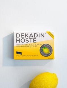 Packeging for Dekadin lozenges on Behance
