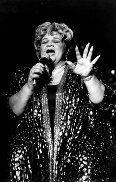 An incredible woman and one heck of a singer --- the true Queen of Soul. We miss you, Etta James.