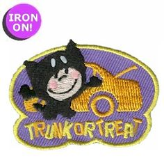 Trunk or Treat Fun Patch! See more Girl Scout Fun Patches on PatchFun.com!