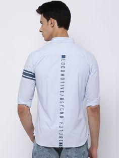 Graphic shirt - Locomotive Graphic Shirts, Printed Shirts, Mens Designer Shirts, Denim Shirt Men, Stylish Mens Outfits, Boys Shirts, Casual Shirts For Men, Shirt Style, Shirt Designs