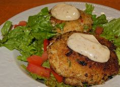The Moistest Crab Cakes Ever! -