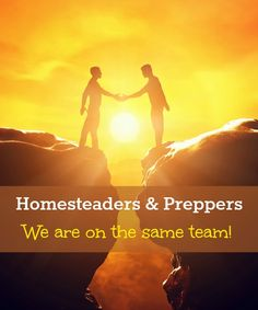 Homesteaders and preppers: why does one have to be considered better than the other?  A discussion of both, and why we are actually on the same team.  via www.BackdoorSurvival.com
