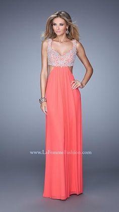 La Femme 21329 | La Femme Fashion 2014 - La Femme Prom Dresses - La Femme Cocktail Dresses