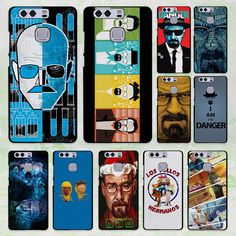 breaking bad Poster tv show design hard black Case Cover for Huawei P8 P9 lite P9 Plus P7 Mate9 Mate8 Mate S