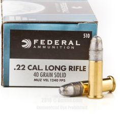 Federal 22 LR Ammo - 5000 Rounds of 40 Grain LRN Ammunition #22LR #22LRAmmo #Federal #FederalAmmo #Federal22LR #LRN