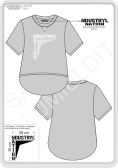 Shirt design-technical draw