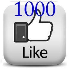 1000 Curtidas Para Sua Fan Page / Likes No Facebook - R$ 29,90