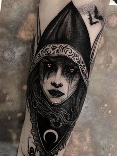 Rayless, and pathless, and the icy earth swung blind and blackening in the moonless air 🌑 . Life Tattoos, Body Art Tattoos, Sleeve Tattoos, Dark Art Tattoo, Color Tattoo, Tattoo Sketches, Tattoo Drawings, Tattoo Ink, Sister Tattoos