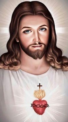 Jesus Mercy, Jesus Our Savior, Heart Of Jesus, Jesus On The Cross, Jesus Is Lord, Miséricorde Divine, Divine Mercy, Jesus Christ Painting, Jesus Art