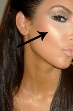 """Perfect Highlighter...It's called """"Albatross"""" by NARS"""