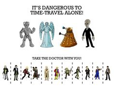 Doctor Who - Doctor tear off poster, I think I'll print this out.