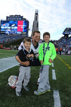 The Brady Boys #Patriots #Family