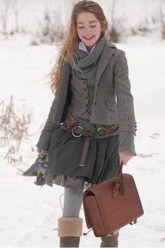 Winter fashion/ Street Style #moda #fashion