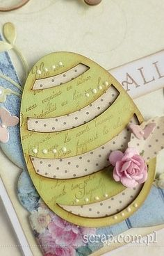 Easter Projects, Easter Ideas, Easter Card, Atc, Cardmaking, Decorative Plates, Scrapbooking, Cards, Maps