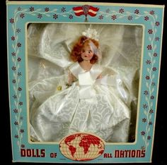 Rare Queen Elizabeth Doll #700 Vintage 1950's Dolls Of All Nations ...