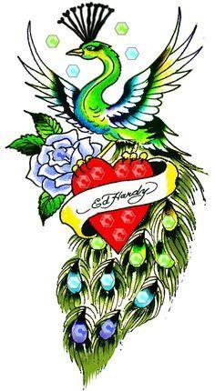 ed hardy rose tattoo - Google Search