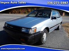1986 Toyota Corolla Deluxe