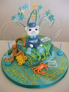 CAKE - Octonauts theme 2 | by Jules this 6 inch sponge cake … | Flickr