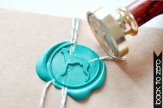 Greyhound Gold Plated Wax Seal Stamp x 1 by BacktoZero on Etsy, $20.00