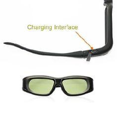 Liquid Crystal 3D Vision Glasses for LCD/LED/Plasma 3D TV