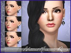 New realistic blush for your sims! Your sims will love their new look ;) Found in TSR Category 'Sims 3 Blush' Sims 3 Makeup, Sims Community, Sims Resource, Electronic Art, Blush Makeup, Freckles, Minerals, Cosmetics, Nature