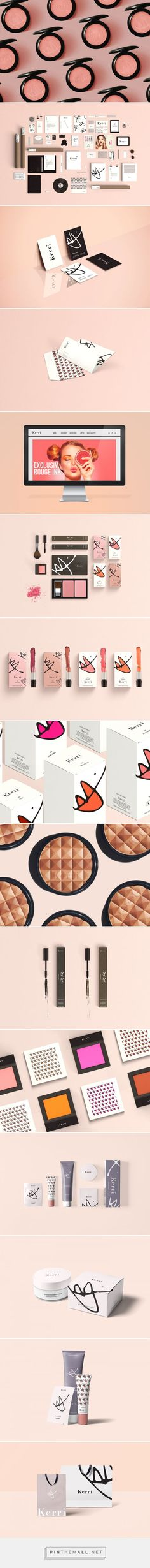 Kerri Cosmetics Branding and Packaging by Danielle Han   Fivestar Branding – Design and Branding Agency & Inspiration Gallery